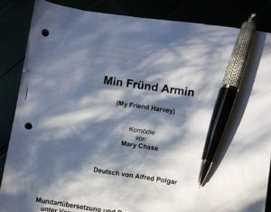 """Newsletter Produktion 2020 – """"Min Fründ Armin"""""""
